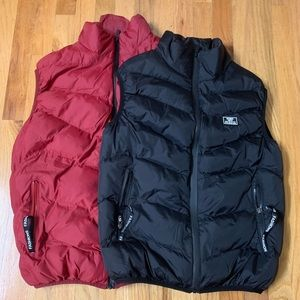 👫Couple Mock Neck Puffer Vest Full Zip